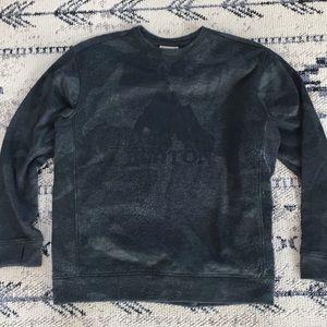 Camo Burton crewneck tech sweatshirt